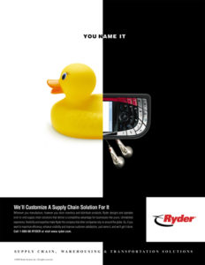 Ryder Supply Chain Solutions Ad
